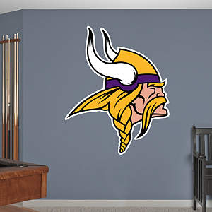 Minnesota Vikings Logo Fathead Wall Decal